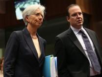Treffen der Finanzminister in Brüssel