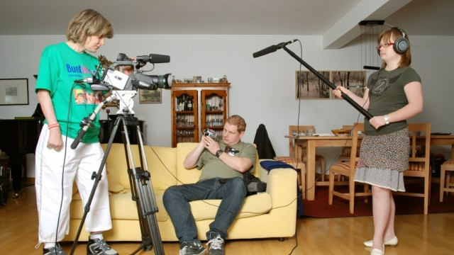 Dokumentarfilm Behinderte filmen sich selbst