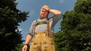 Wildbach Toni Comedian und Lebenskünstler Moses Wolff