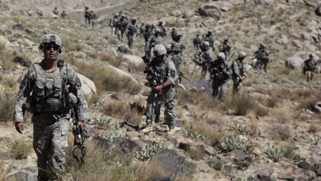 Afghanistan US-Soldaten in Afghanistan