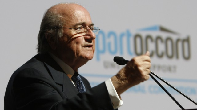 Sepp Blatter Internationaler Fußball