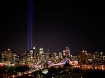 Ground Zero Memorial Lights Tested