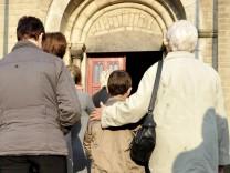 Gottesdienst für vermissten Jungen