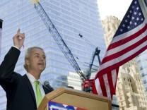 Protest gegen Moschee am Ground Zero - Geert Wilders