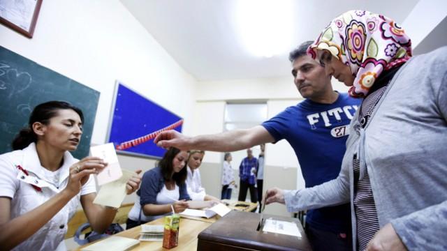 Volksabstimmung über türkische Verfassungsreform