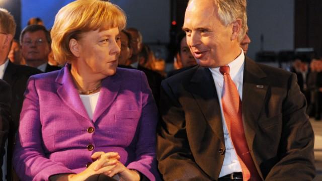 Tag der Deutschen Industrie - Merkel, Keitel