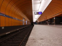Streik im Öffentlichen Nahverkehr in München, 2009