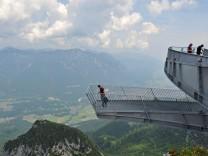 Eröffnung Aussichtsplattform AlpspiX
