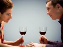 Alkohol in der Ehe.