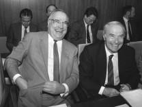 Helmut Kohl und Alfred Dregger, 1987